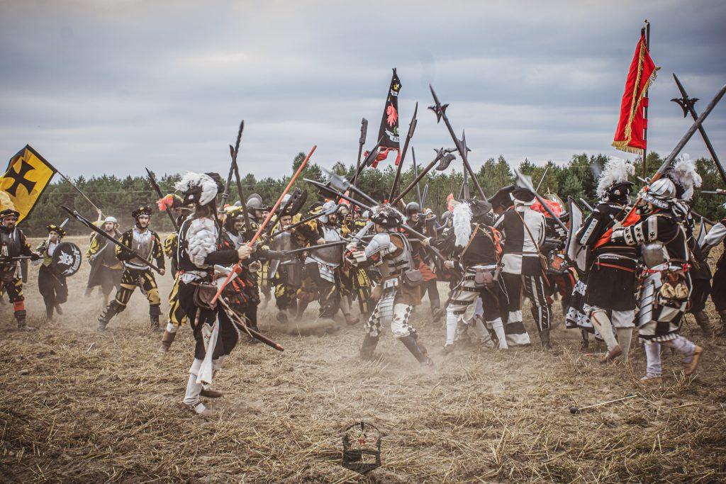 Bitwa dwóch imperialnych oddziałów w polu